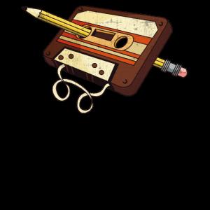 80er 90er Musik Kassette Band Tape 1980 Geschenk