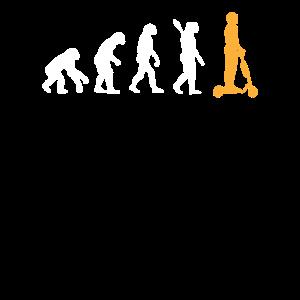 Evolution Elektro Roller Entwicklung E Scoter