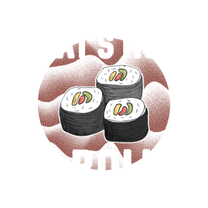 That's how I roll - so rolle ich - Sushi Liebe