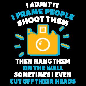 Fotograf Kamera Fotoapparat