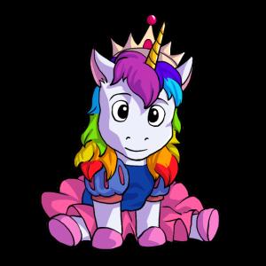 Einhorn Einhörner Prinzessin