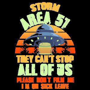 Storm Area 51 Ausserirdische