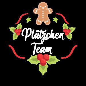 Plätzchen Team Weihnachten
