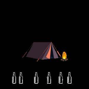 witzige Wettervorhersage für Camping Campen Zelten
