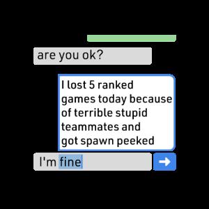 Zocken Meme Chat Online Multiplayer Geschenk