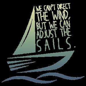 Segeln Segelboot Spruch