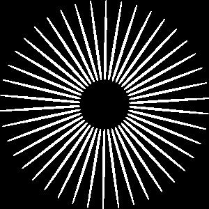 Linien im Kreis in allen Vector Farben