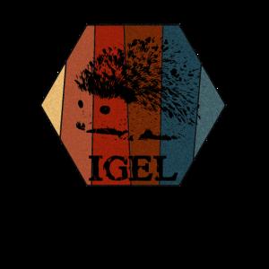 Retro Igel