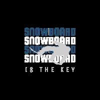 snowboard lifestyle - weiß