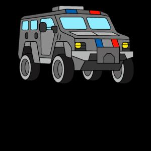 SWAT Fahrzeug Spezialeinsatzkommando Polizei Auto