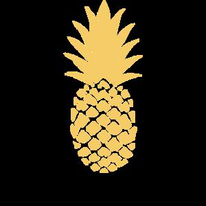 ananas, illustration zeichen symbol, frucht frücht