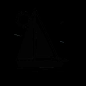 Segeln gehen Segelboot