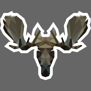 Low Poly Moosehead