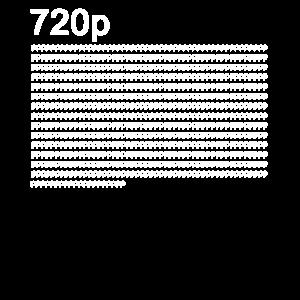 720p tshirt für Techniker nerd und Technik geek