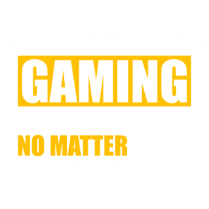 Gaming Shirt Gaming is the answer