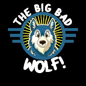 Wolf Kinderbild Husky Wölfe Niedlicher Hund Tiere