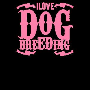 Hundezüchterin Hundezucht