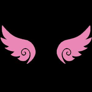 Flügel pink