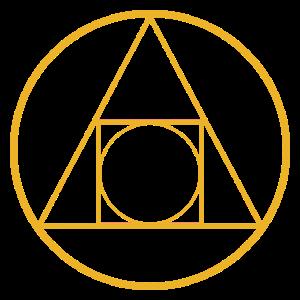 Geometrische Figur Geschenk