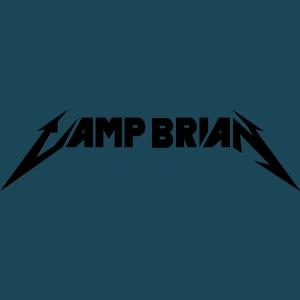 Camp Brian no skull vector