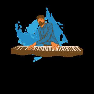 Keyboard Tshirt für Klavier oder Pianospieler