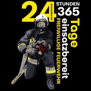 Feuerwehr - Rund um die Uhr einsatzbereit!