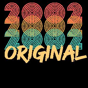 Geboren 2002 Original Geburtstag Geburtstagskind