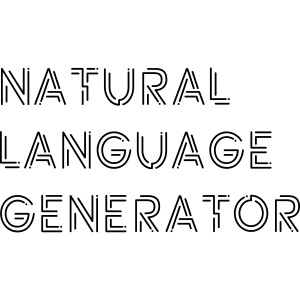 Natural Language Generator