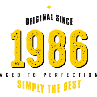 original since 1986 simply the best 30th birthday