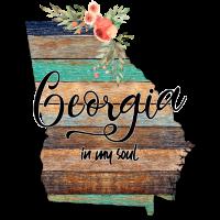 Georgia in meiner Seelenkarte