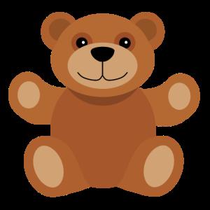 Netter Bär möchten umarmen