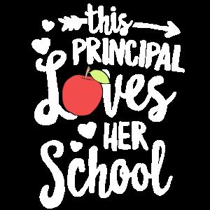 Diese Schulleiterin liebt ihren Schullehrer für T-Shirts