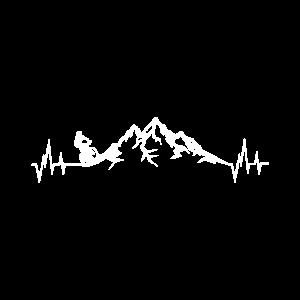 Downhill Biker Mountainbike Biken Herzschlag Berge