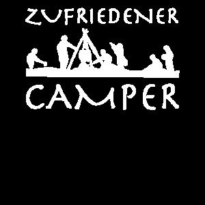 Ich bin ein zufriedener Camper