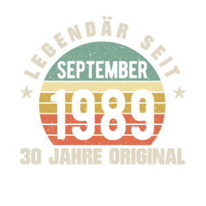 30. Geburtstag September 1969
