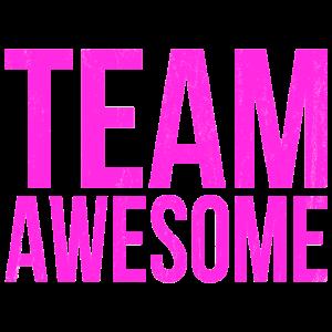 Team Awesome Geschenk