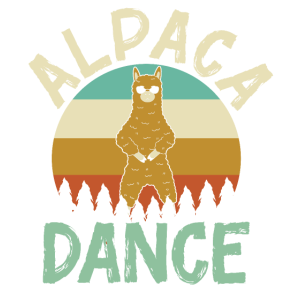Alpaca dance Sunglasses Vintage