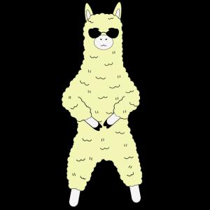 Alpaca dance Sunglasses