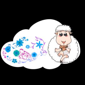 Wetter Schäfchen Wolke Fantasy himmlisch