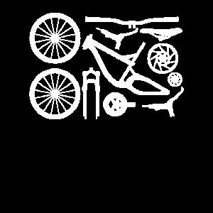 Fahrradteile Radfahrer