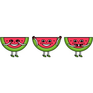The three melons