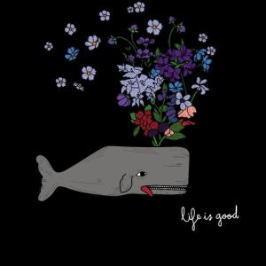 Wild Ocean Flower Whale