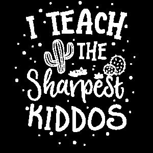 Ich unterrichte die schärfsten Kiddos Teacher TShirt Kids