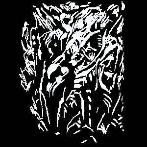 Alien Struktur - Friedhof