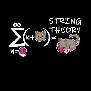 String Theorie Katzen Physik Quanten Katze Formel