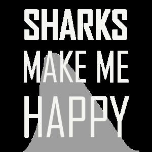Haie machen mich Glücklich