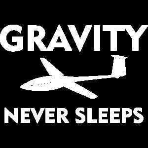 Schwerkraft Segelflugzeug gleiten Segelfleiger