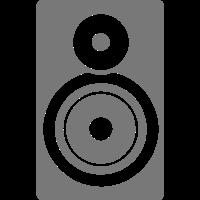 Lautsprecher Bass-Musik in 1501