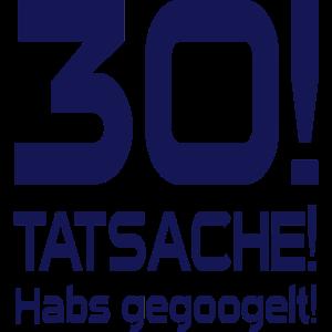 Gegoogelt 30. Geburtstag