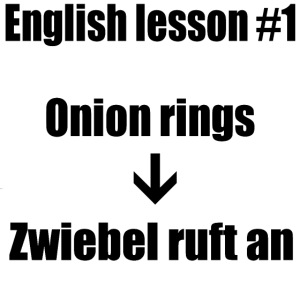 english lesson #1